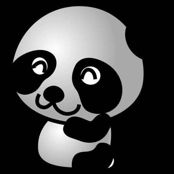 Panda 7 PNG Clip art