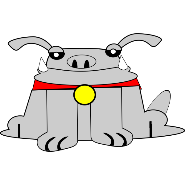 Sitting Dog PNG Clip art