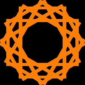 Orange Computer PNG Clip art