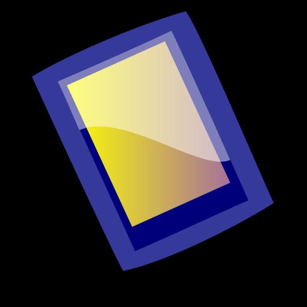 Blue Pad PNG Clip art