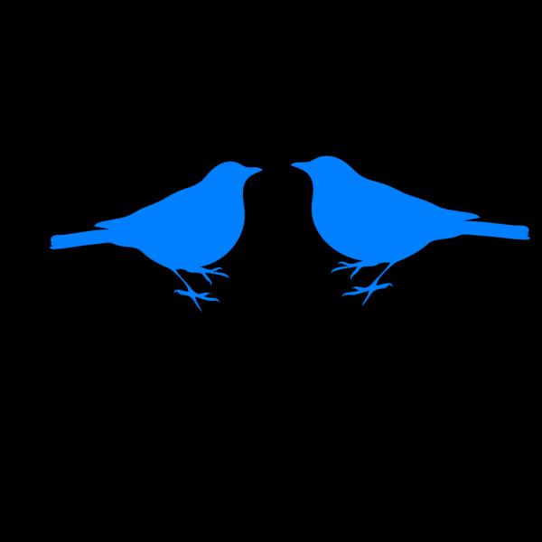 Blue Birds PNG Clip art