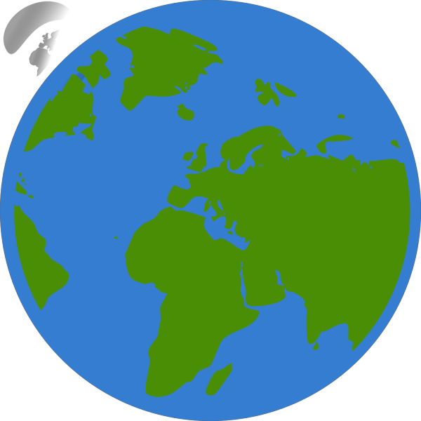 Blue Earth PNG icons