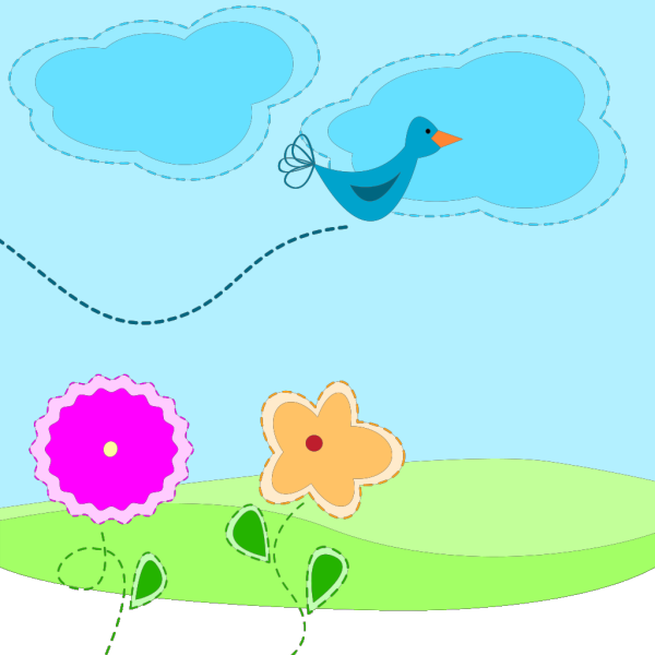 Cartoon Spring PNG images