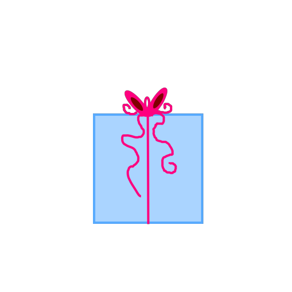 Easter Present PNG images