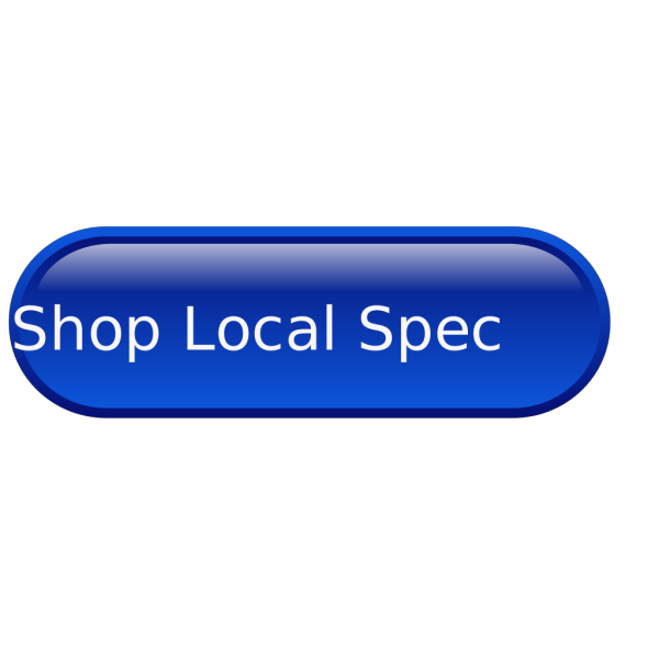 Blue Button Shop Local PNG images