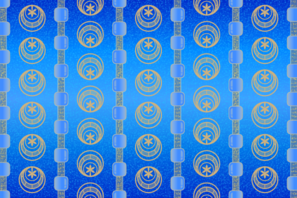 Background Patterns - Cerulean