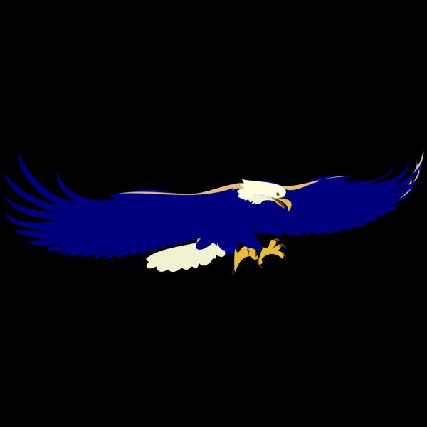 Blue Eagle PNG Clip art