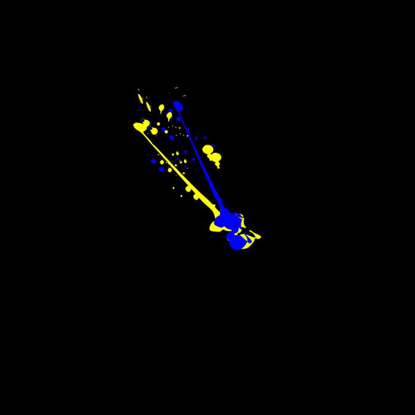 Splatter PNG images