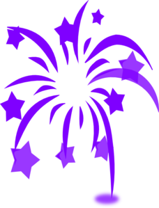 Blue Fireworks PNG icon