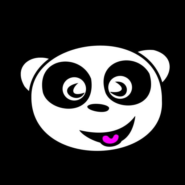 Happy Panda Face