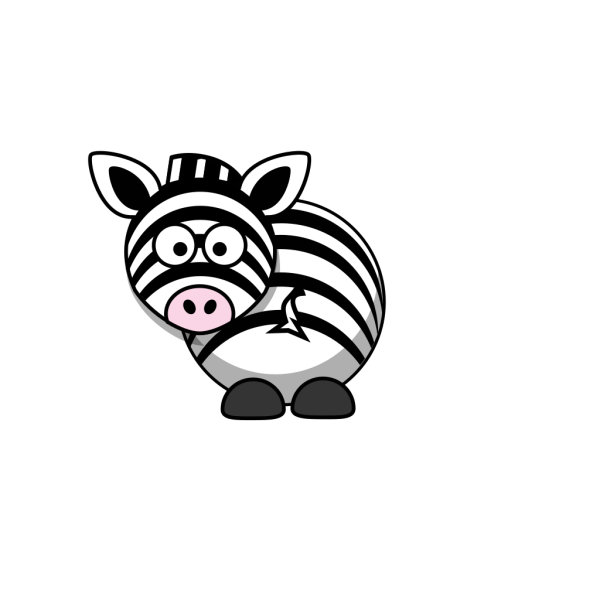 Zebra - Looking Back PNG images