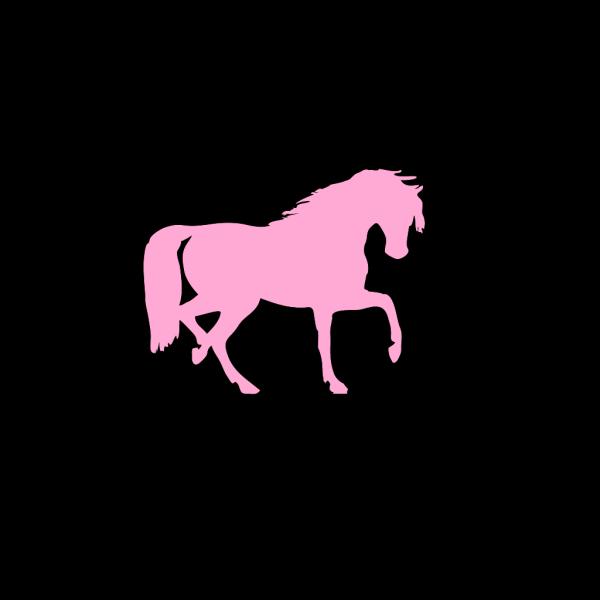 Pink Horse PNG Clip art