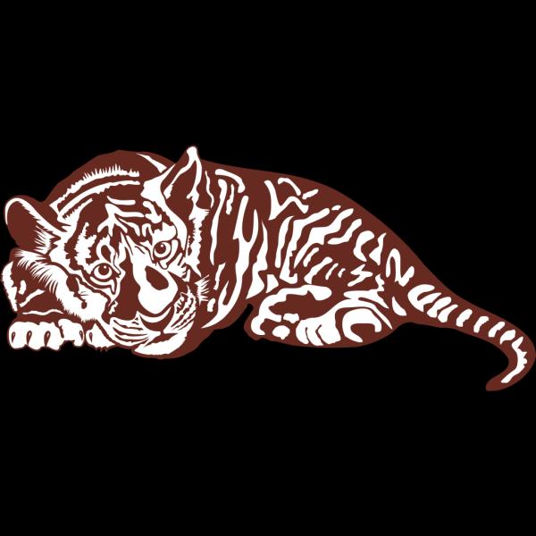Tiger Cub PNG Clip art