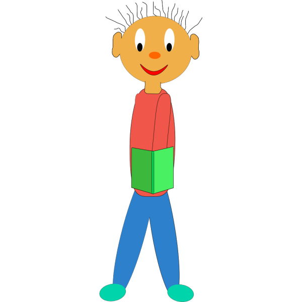 Boy With No Arms PNG image