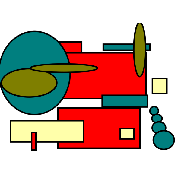 Mod Art 01 PNG Clip art