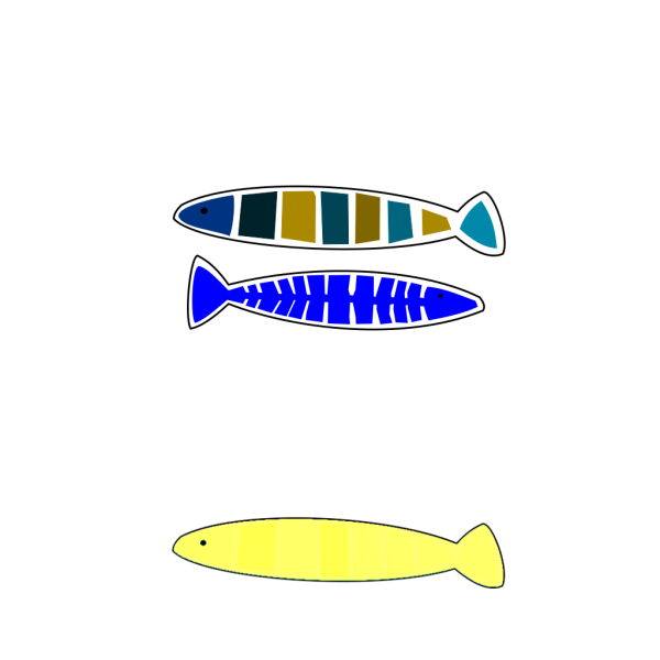 Abstract Fish PNG icons