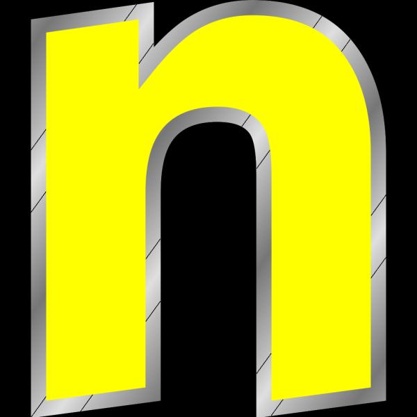 Old Turkic Letter N PNG Clip art