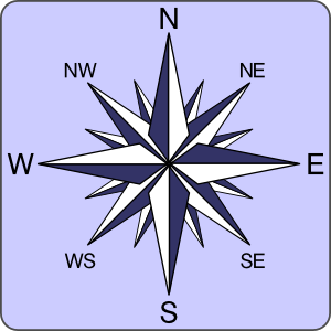 Simple Compass PNG Clip art