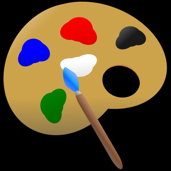 Paint Palette PNG Clip art
