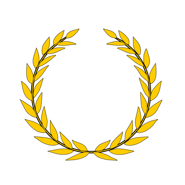 Gold Laurel PNG Clip art