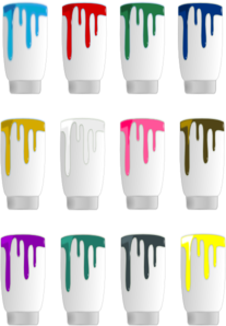 Paint Colors Dripping PNG Clip art