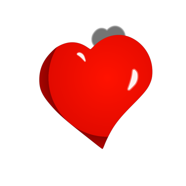 Heart 1 33 Transparent Clip Art PNG icons