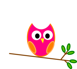 Orange Owl PNG Clip art
