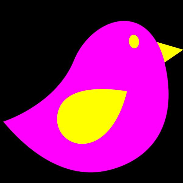 Pink Little Bird PNG Clip art