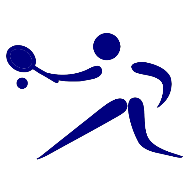 Blue Tennis PNG Clip art