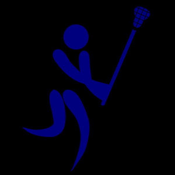 Blue Lacrosse PNG Clip art
