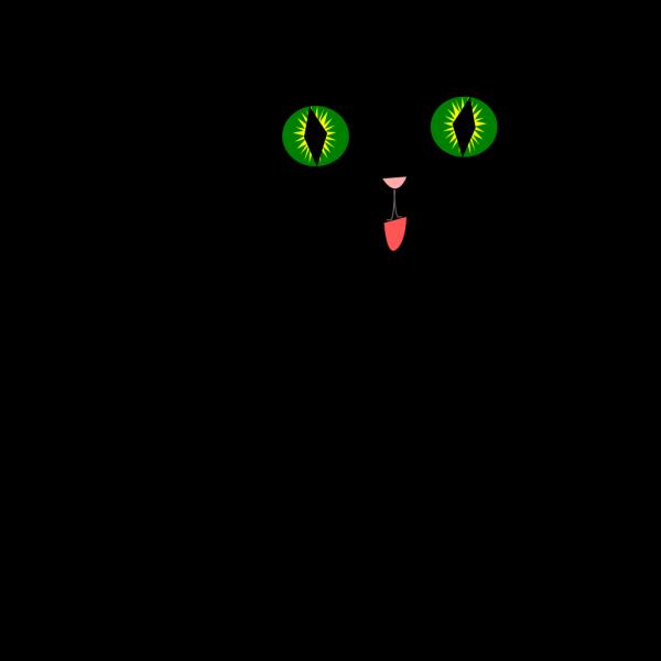 Black Cat PNG Clip art