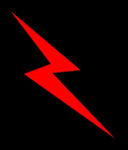 Lightning Emblem PNG Clip art