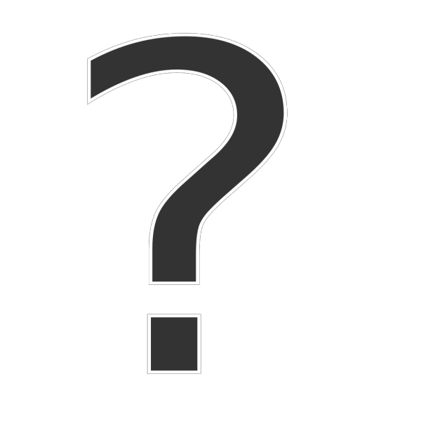 Question Dropshade PNG Clip art