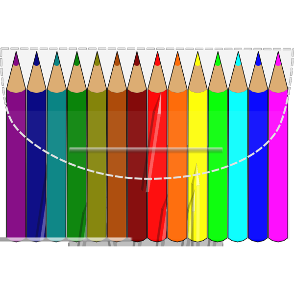 Coloring Pencils PNG images