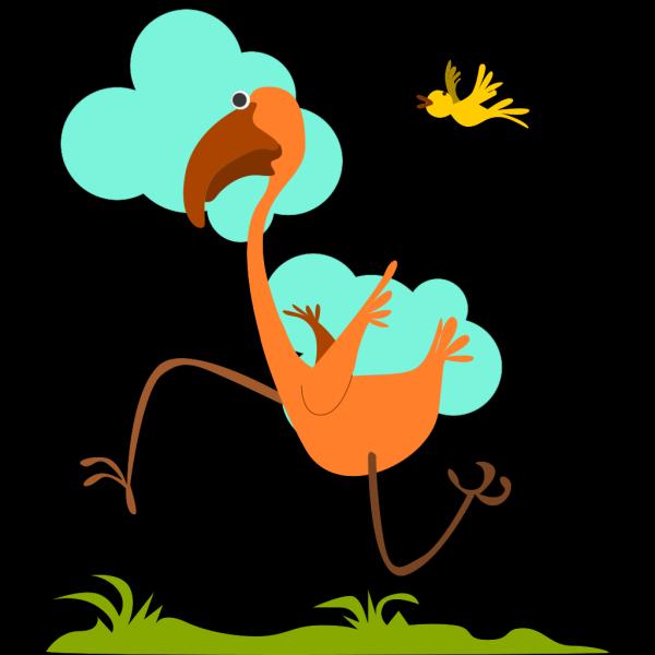 Run Birdie Run PNG Clip art
