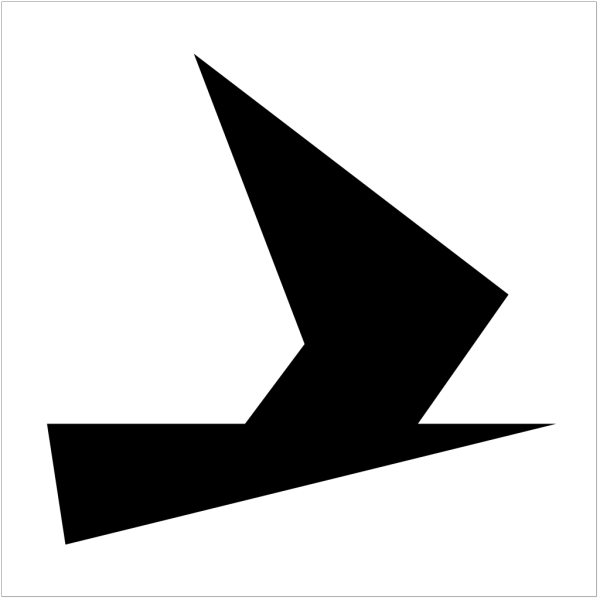 Schwertzugvogel Black PNG Clip art
