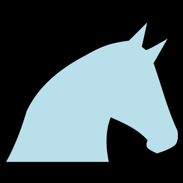 Pale Blue Horse