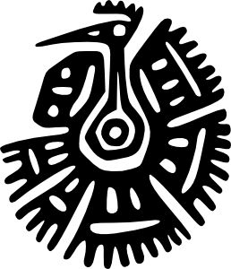 Ancient Mexico Motif PNG Clip art