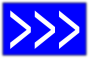 Arrows To Right(blue) PNG images