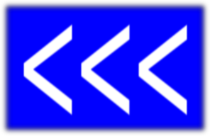 Arrows To Left(blue) PNG images