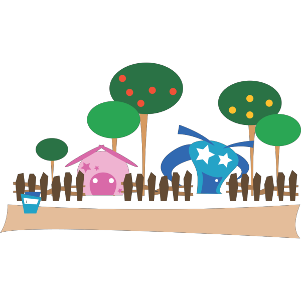 Cartoon Village PNG images