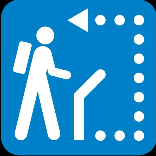 Follow Path PNG Clip art