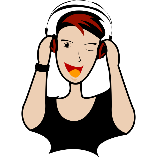 Dj Cartoon PNG image