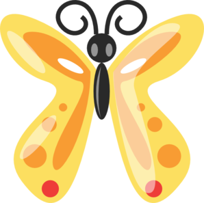 Spotted Butterfly PNG Clip art
