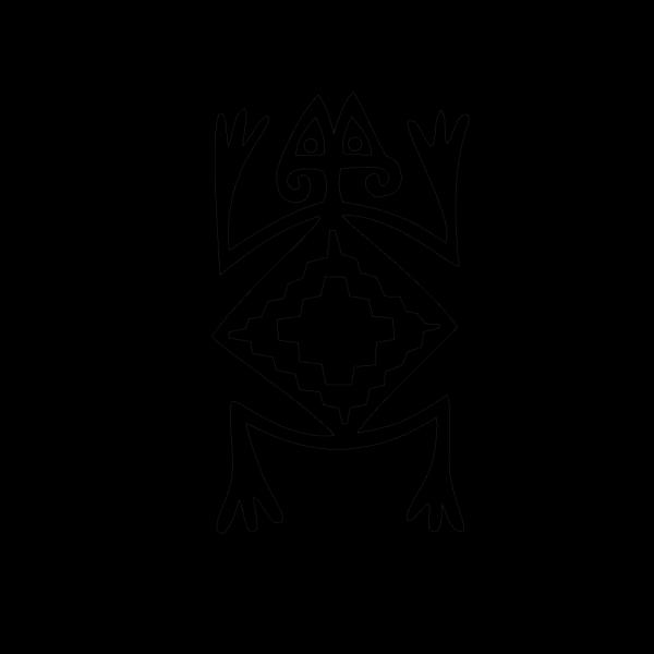 Frog Symbol PNG Clip art