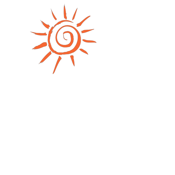 Orange Sunset Sketch Version PNG Clip art