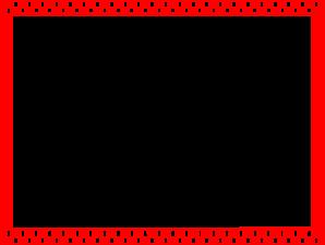 Checkerboard Border PNG Clip art