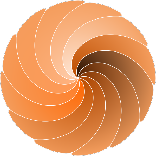 Brown Spiral PNG images