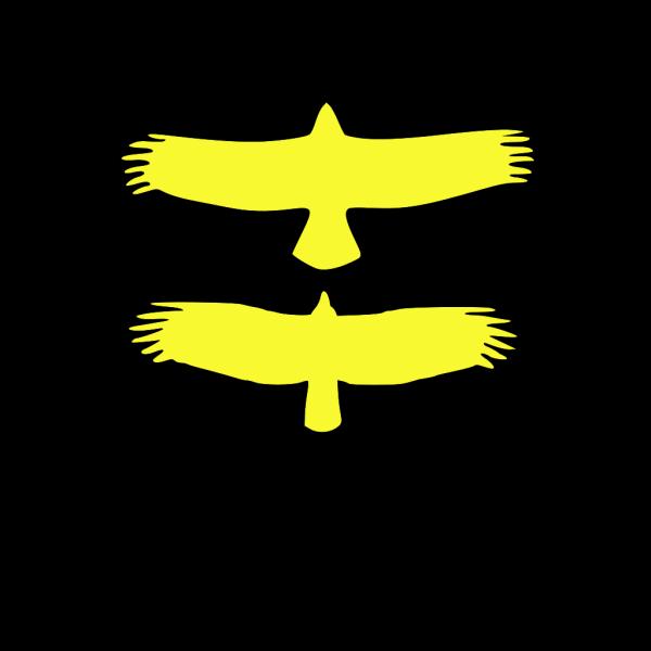 Gold Bird PNG Clip art