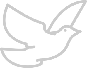 Dove In Glass Window PNG Clip art